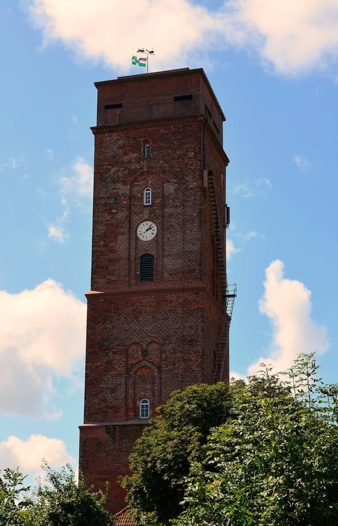 Borkum Alter Leuchtturm - Wahrzeichen der Ostfriesischen Insel