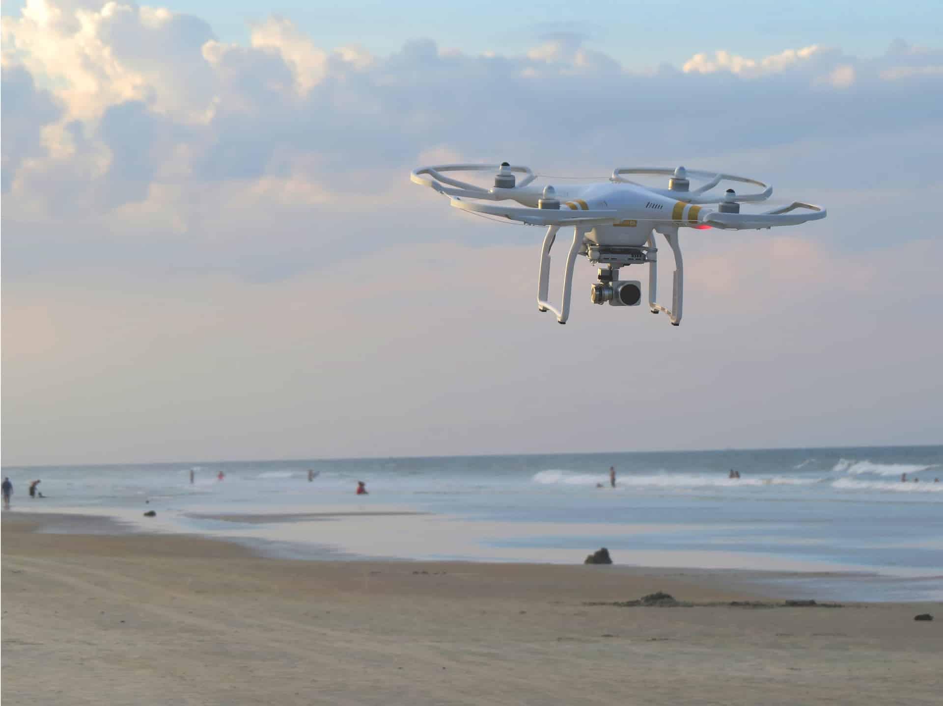 Drohnen auf den Nordseeinseln