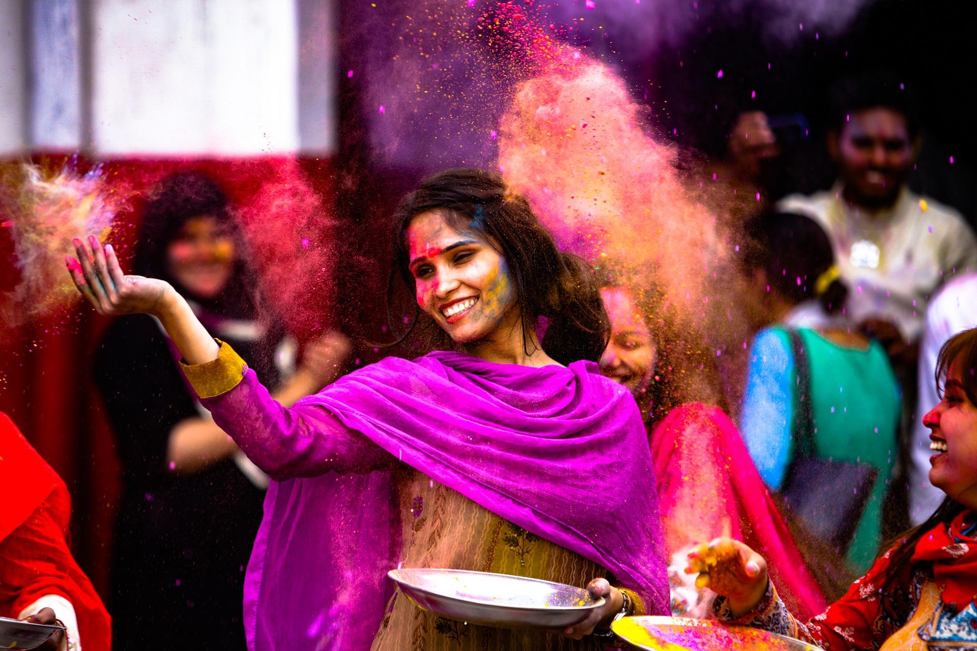 Der Ursprung des Holi Festivals in Indien