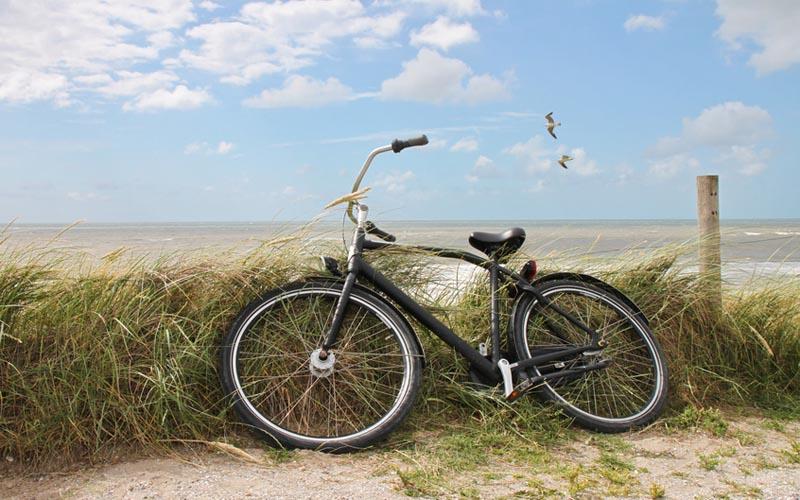 Nordseeinseln Langeoog Fahrrad