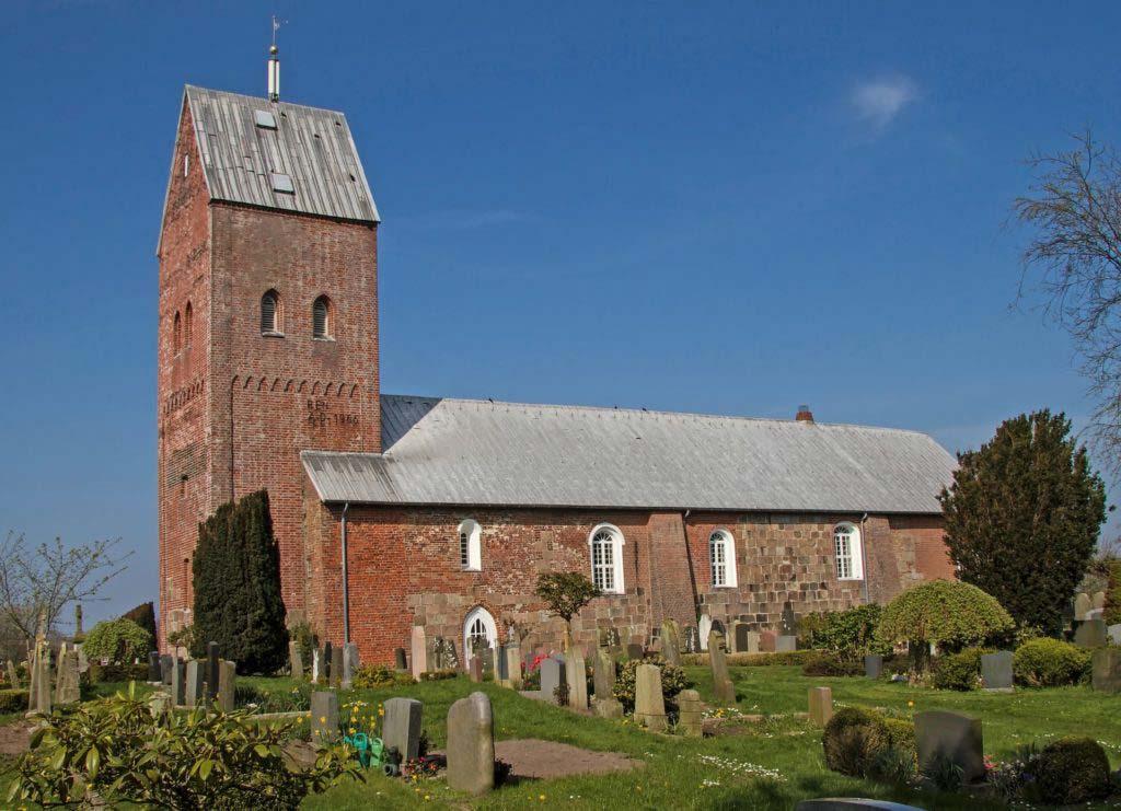 St. Laurentii Kirche auf der Nordseeinsel Föhr