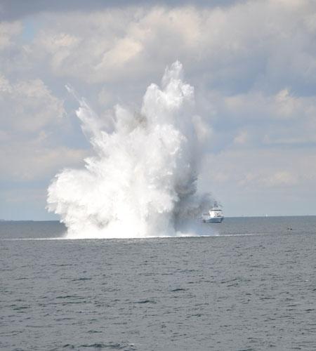 Kampfmittel in der Nordsee