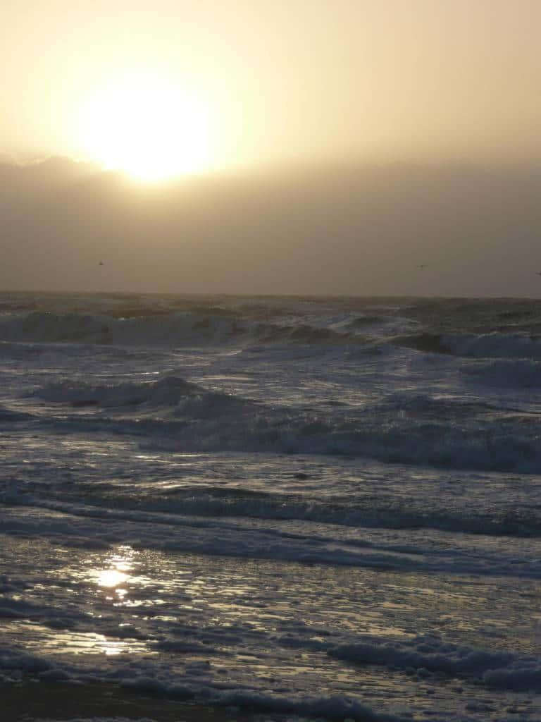 Unbeständige Nordsee Sylt