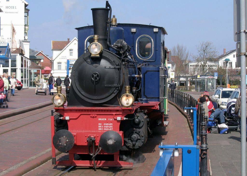 Die nostalgische Borkumer Inselbahn