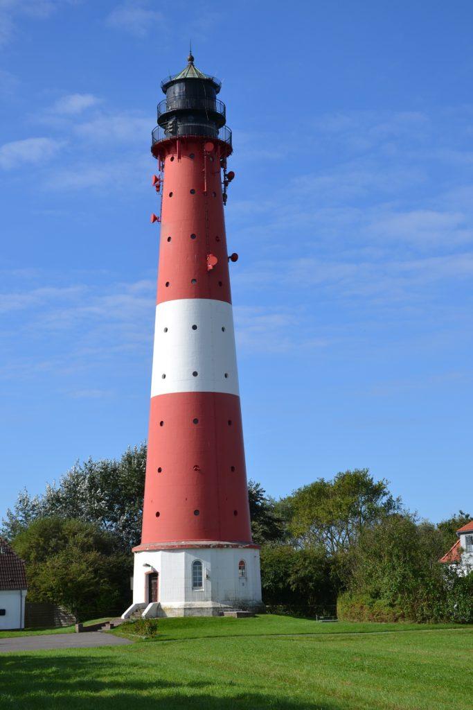 Sehenswürdigkeit Leuchtturm auf Nordseeinsel Pellworm