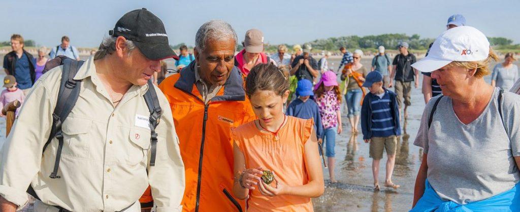 Kinder Uni Föhr Expedition Wattenmeer mit Mojib Latif