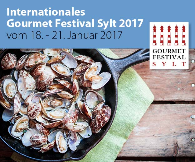 Nordseeinseln-Veranstaltungstipp: Gourmetfestival Sylt