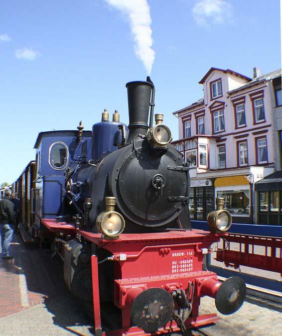 Borkumer Kleinbahn – Highlight des Inselbesuchs