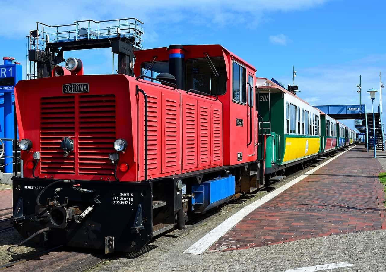 Die Borkumer Kleinbahn - Unterwegs auf der Nordseeinseln Borkum