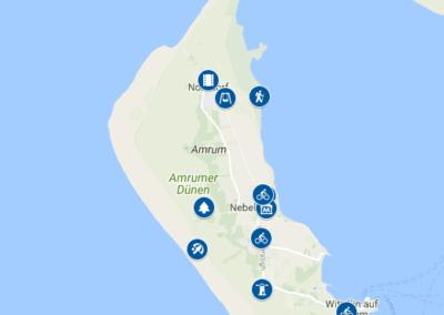 Amrum Karte