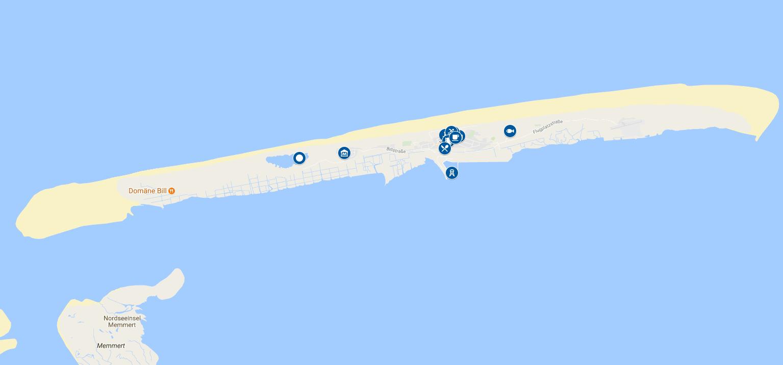 Juist Karte.Nordseeinseln Karte Karten Ostfriesische Nordfriesische Inseln
