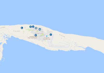 Wangerooge Karte