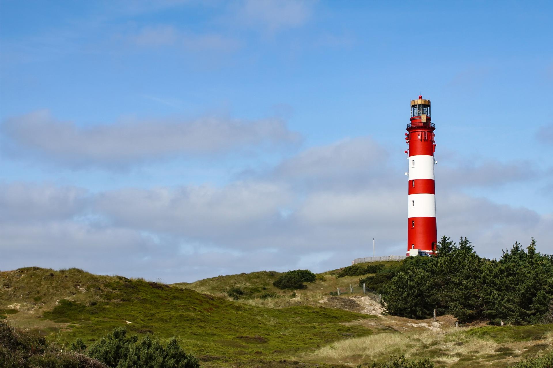 Leuchtturm auf der Nordseeinsel Amrum