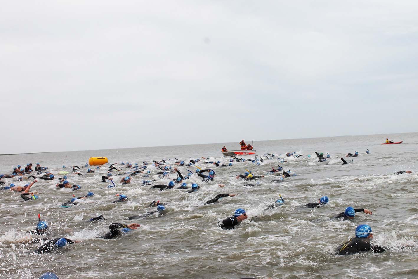 Nordseeinseln Veranstaltungen Inselschwimmen DLRG Norderney