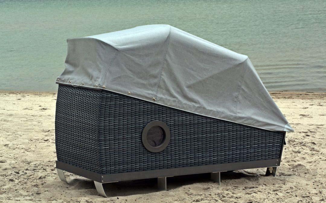 Nordseeinseln ganz romantisch – Übernachten im Schlafstrandkorb auf Föhr
