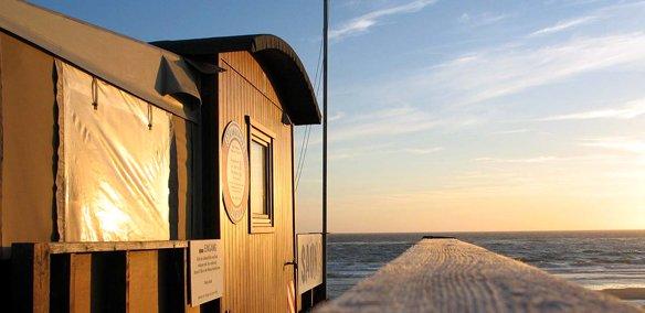 Nordseeinsel Urlaub Strandsauna auf Sylt Rantum