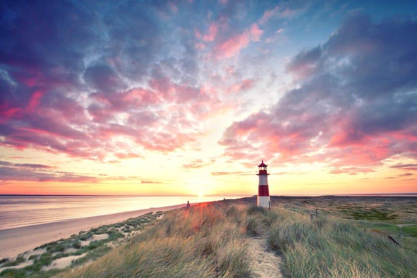 Sylt Dünen am Leuchtturm List Ost