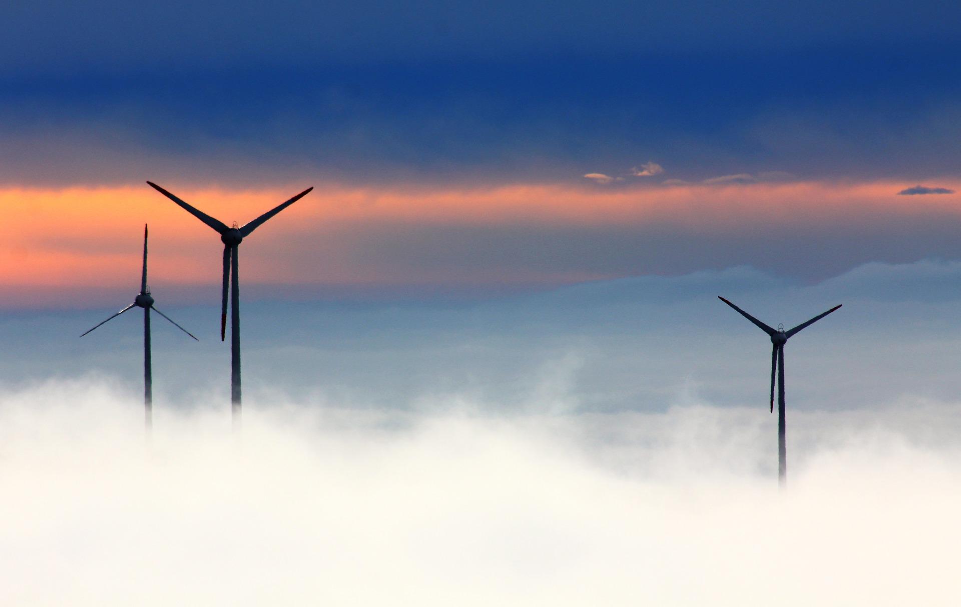 Windparks der Nordsee - Energie aus Wind